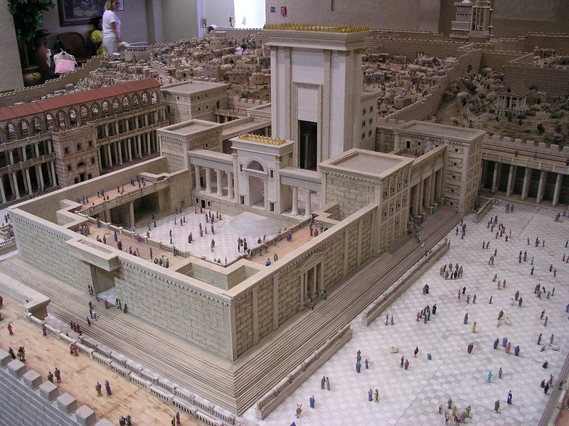 Scaled model of Solomon's Temple